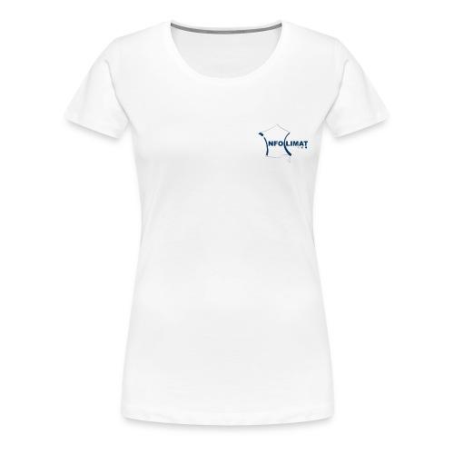 T-shirt Site Officiel Femme - T-shirt Premium Femme