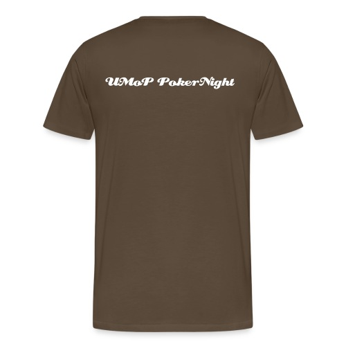 UMoP-Pokernight-T-Shirt (Classic One) B - Männer Premium T-Shirt