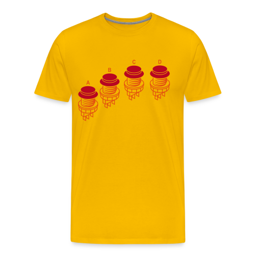 Buttons1: N·G Style - Men's Premium T-Shirt