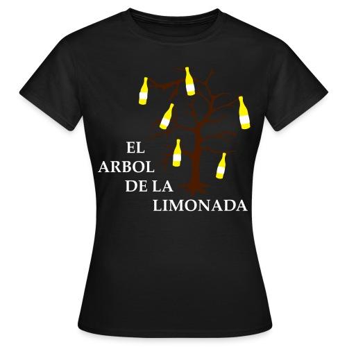el arbol de la limonada olive-white-brown - girlie - Frauen T-Shirt
