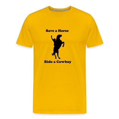 Cowboy-Shirt - Männer Premium T-Shirt