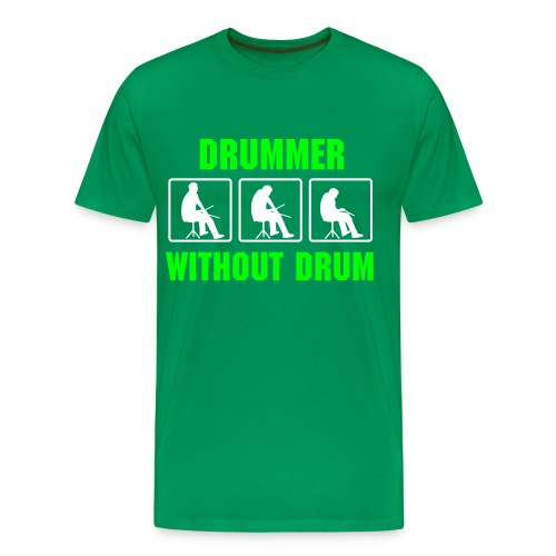 DRUMMER, WITHOUT DRUM - T-shirt Premium Homme