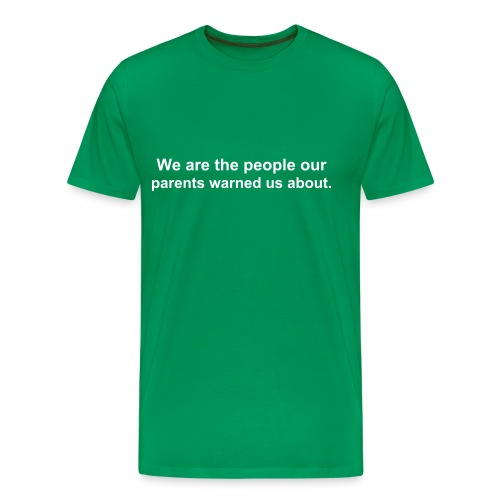 We are the people T-Shirt - Men's Premium T-Shirt