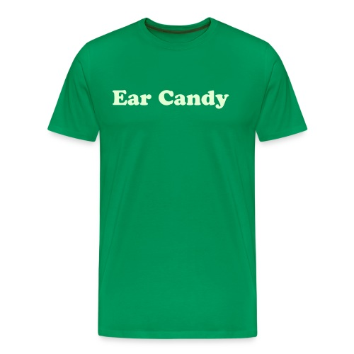Ear Candy T-Shirt - Glow In the Dark - Men's Premium T-Shirt