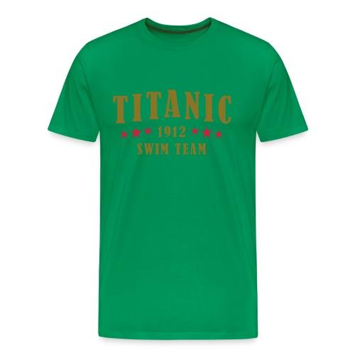 swimmer - Men's Premium T-Shirt