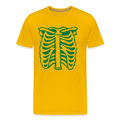 X-Ray yellow t-shirt - Men's Premium T-Shirt
