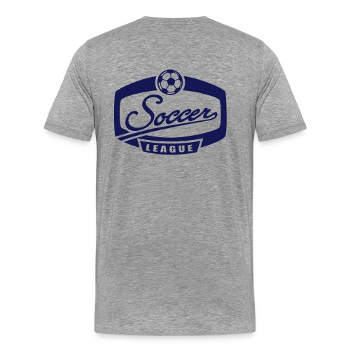 Soccer League, Soccer - T-shirt Premium Homme