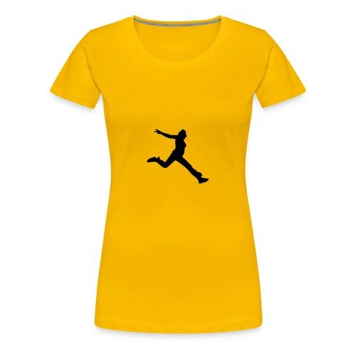 Motive-T-Shirt, Sprung - Frauen Premium T-Shirt