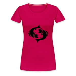 pisces - Premium T-skjorte for kvinner