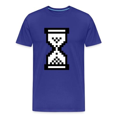 blue hourglass - Männer Premium T-Shirt