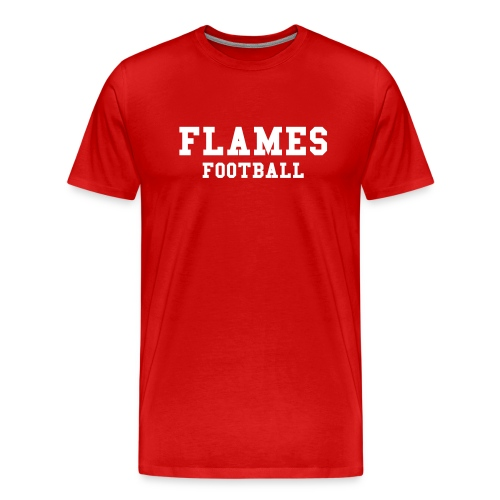 FLAMES FOOTBALL - Premium-T-shirt herr