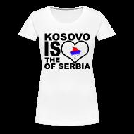 Tee shirts ~ T-shirt Premium Femme ~ Kosovo is the heart of Serbia