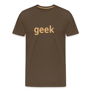 geek - Men's Premium T-Shirt