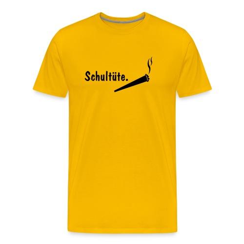 Schultüte.  - Männer Premium T-Shirt