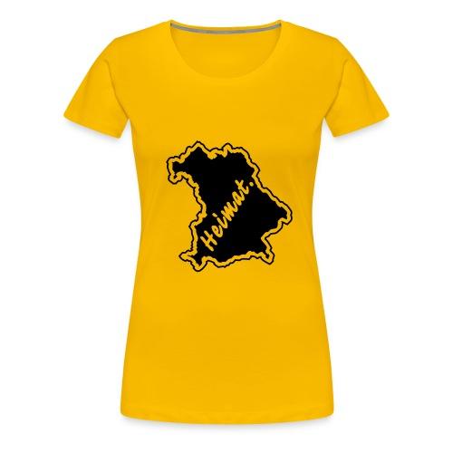 Girlieshirt Heimat Land Bayern - Frauen Premium T-Shirt