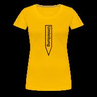 T-Shirts ~ Frauen Premium T-Shirt ~ Umleitung Erotik-Shirt