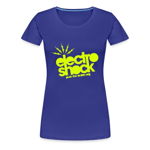 Shock blue Girl - Women's Premium T-Shirt