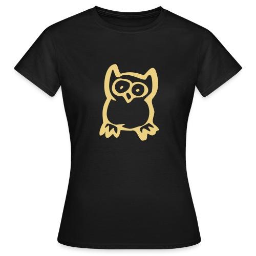 T-Shirt Eule - Frauen T-Shirt