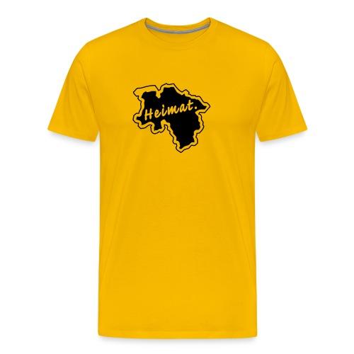 T-Shirt Heimat Land Niedersachsen - Männer Premium T-Shirt