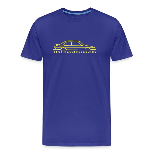 TS Blu/Yellow C900 tee - Men's Premium T-Shirt