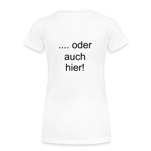Shirt Text individuell - Frauen Premium T-Shirt