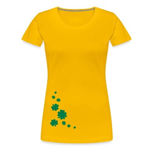 Shamrocks - Frauen Premium T-Shirt