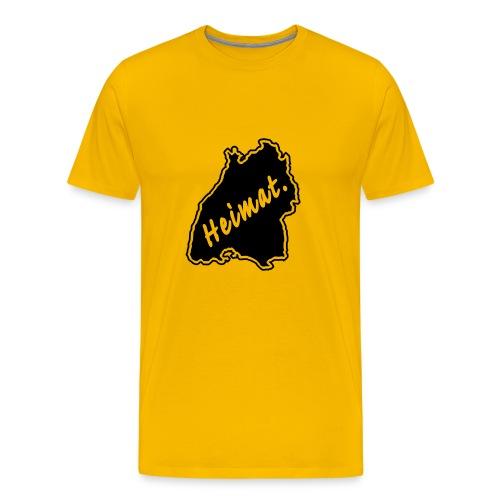 T-Shirt Heimat Land Baden-Württemberg - Männer Premium T-Shirt