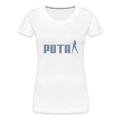 PUTA - Premium T-skjorte for kvinner