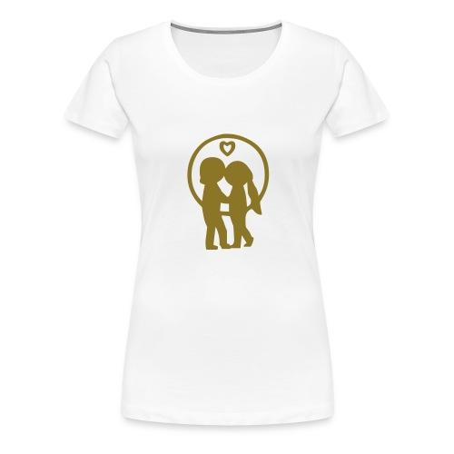 LOVE Kid's - Frauen Premium T-Shirt