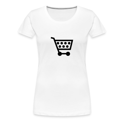Fukaduk Shopping Girlie - Vrouwen Premium T-shirt