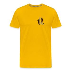 Chinesisches Zeichen, Horoskop Drache - Männer Premium T-Shirt