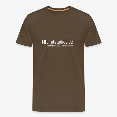 digitstudios.de brown/white - Männer Premium T-Shirt