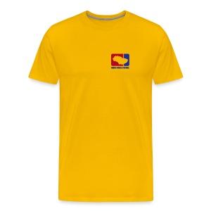 Main Force Patrol (M.F.P.), front- and sideprints - Men's Premium T-Shirt