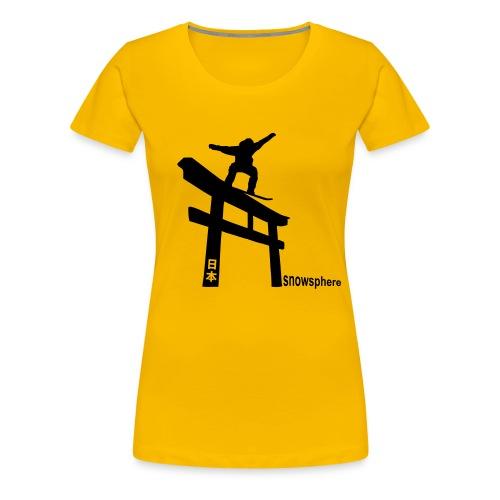 Japan Torii Tee (ladies) - Women's Premium T-Shirt