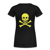 T-Shirts ~ Women's Premium T-Shirt ~ C- YET ANOTHER CONTINENTAL PIRATE!