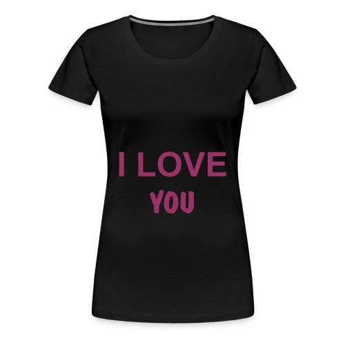 The Love - Frauen Premium T-Shirt