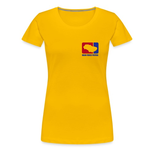 Main Force Patrol (M.F.P.), front- and sideprints - Women's Premium T-Shirt