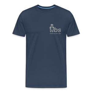 Männer Premium T-shirt Logo silber/grau - Männer Premium T-Shirt