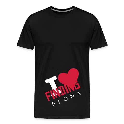 I(HEART)FINDINGfiona - Men's Premium T-Shirt