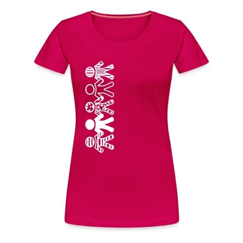 Toleranz - Frauen Premium T-Shirt
