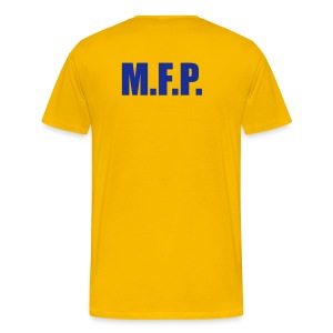 Main Force Patrol (M.F.P.), front- and backprint - Men's Premium T-Shirt