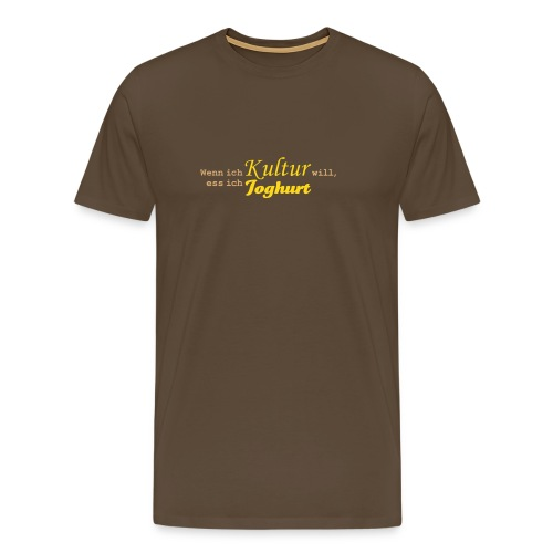 Joghurtkultur - Männer Premium T-Shirt