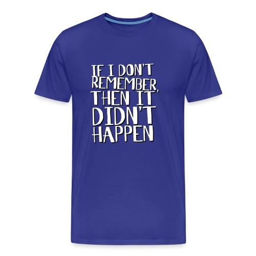 Drunk mans rules - Men's Premium T-Shirt