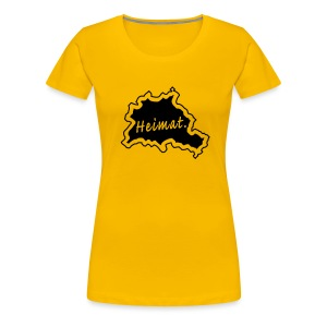 Girlieshirt Heimat Land Berlin - Frauen Premium T-Shirt