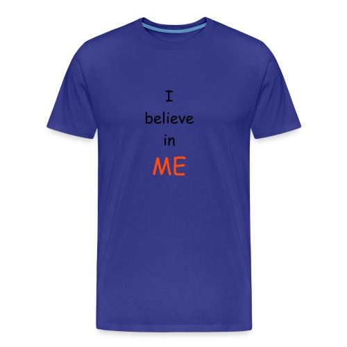 Believe in blue - Men's Premium T-Shirt