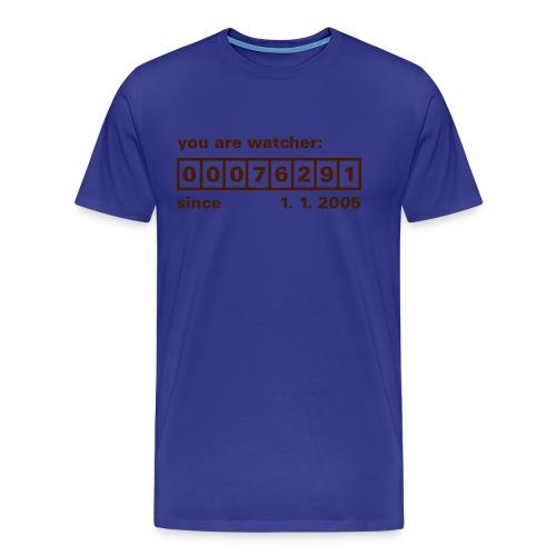 viewer number - Men's Premium T-Shirt