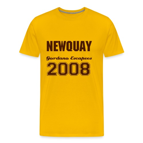 Men's Premium T-Shirt - Click rear of shirt and Change Name & Number.