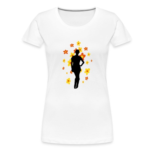 Flower Girl - Women's Premium T-Shirt