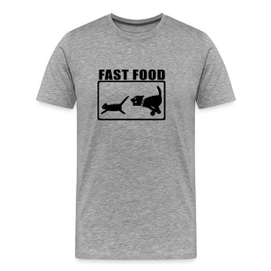 Shirt fast food - Männer Premium T-Shirt