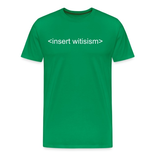 Witicisms - Men's Premium T-Shirt